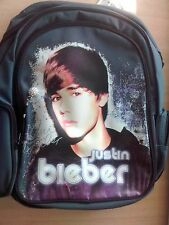 BACKPACK JUSTIN BIEBER    NEVER SAY NEVER      *NEW*