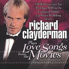 NEW - Plays Love Songs From the Movies by Clayderman, Richard