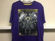 KOBE BRYANT RARE MAMBA LAKERS NBA NIKE T SHIRT SZ L PURPLE DRY FIT NEW