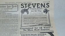 1909 STEVENS REPEATING SHOTGUN AND OTHER ADVERTISING