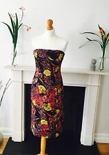ERDEM BERNADETTE FLOWER DRESS Size UK10, RRP£785