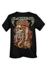 Size XL Blackguard Skeleton King Black T-Shirt Size Extra-Large Folk Metal New
