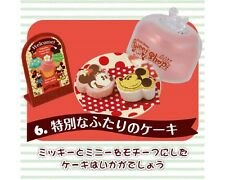 Re-ment Disney Miniature Mickey Minnie Mouse Cake Shop High Tea Time Cake - No.6