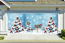 Christmas Garage Door Covers 3d Banners Outside House Decorations Outdoor GD20