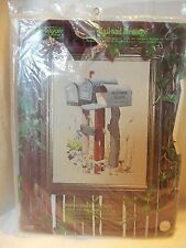 Paragon Needlecraft #0548 Mailbox Country Scene Kit Set  NIP