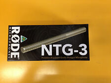 New Rode NTG-3 Condenser Shotgun Microphone Video Mic NTG3