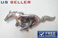 FORD MUSTANG HORSE EMBLEM CHROME DOUBLE SIDED TAPE - US SELLER EE03