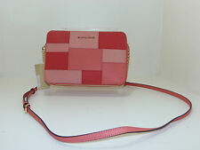 NWT New Michael Kors Handbag Jet Set Travel Bag Large Crossbody Leather Purse