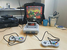 SFC,SNES Region free 60/50hz switchless, with RGB cable, controller,psu,bundle