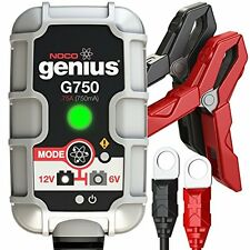 NOCO Genius G750 6V/12V .75A UltraSafe Smart Battery Charger New