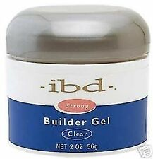 Strong IBD UV Builder Gel Nail Art Clear 2oz / 56g-POSTS TO WORLDWIDE!!!