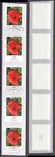 Bund 2477 sauber gestempelt 5er Streifen Blumen Klatschmohn 2005  (1)