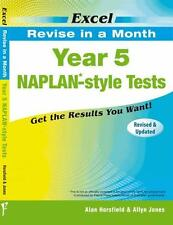 NEW Excel NAPLAN-style Tests By Excel Paperback Free Shipping