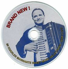 30 Charles Magnante Accordion Sheet Music - BRAND NEW! - Disc #2 of 5