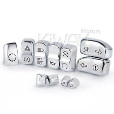 switch housing buttons 11pcs chrome for 2014 Harley Street Glide Special FLHXS