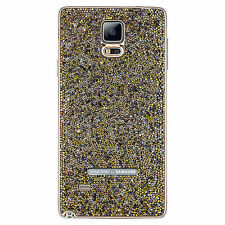Authentic Swarovski Crystal Battery Back Cover Samsung Galaxy Note 4 GOLD