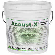 Acry-Tech Acoust-X 1 Gal Absorption Coating Paintable Dampin