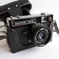 Vilia Soviet Lens Camera 35mm 1970's Vintage USSR Russia