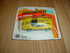 Vintage 1983 Zee Toys Diecast Dynawheels Ferrari 365 GT Toy Car MOC MIP Yellow