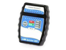 Quick RJ45 CAT5 CAT5e CAT6 Network Ethernet Cable Tester RJ 45 LAN (New)