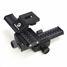 4 Way Fotomate Macro Focusing Rail Slider head Canon Nikon Sony Pentax DSLR DC