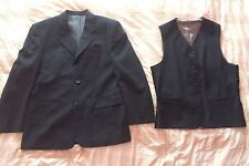 Charcoal Grey Men's Suit Jacket And Waistcoat SCOPES 38s