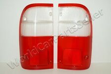 TOYOTA Hilux 1998-2002 Tail Light Rear Lamp Lenses PAIR 1999 2000 2001