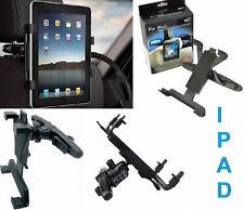 Supporto da auto per monitor e iPad 1,2,3.Universale,si aggancia al poggiatesta.