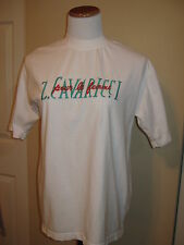 Vintage Late 80s 90s Z CAVARICCI WHITE T SHIRT Costume Party Clothes Clothing