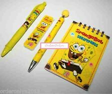Stationery 4pc Set (SpongeBob Squarepants Design)