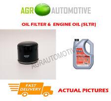 DIESEL OIL FILTER + FS 5W40 ENGINE OIL FOR RENAULT MEGANE 1.5 82 BHP 2003-07