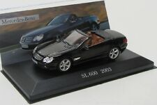 Mercedes Benz SL 600 / R230 ( 2003 ) schwarz / IXO 1:43