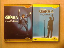 18528//LOT 2 DVD LAURENT GERRA OLYMPIA 2002 +PALAIS DES SPORTS 2004 DVD  EN TBE