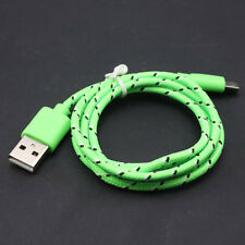 3/6/10ft Braided Micro Data Sync Charger Cable Cord For iPhone 5 SE 6 6S Samsung