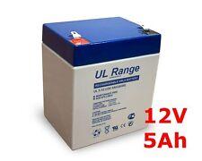 Akku Batterie 12V 5Ah Ersatzkku für 12Volt  4Ah / 4,5Ah Notstrom USV Anlagen