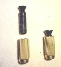 SCHALLER FLOYD ROSE Tremolo Studs & Brass Inserts for Electric Guitar Black Pair