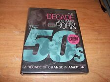 (2) The Decade You Were Born: 1980s And 1950s (DVD, 2012) Change In America NEW