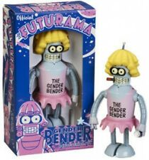 Futurama Gender Bender Tin Wind Up  Robot New in Box