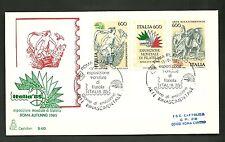 ITALIA BUSTA CAPITOLIUM  ARTE RINASCIMENTALE RINASCIMENTO ANNULLO ROMA FDC 1985