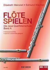 Querflöte Noten Schule : Flöte Spielen A mit CD WEINZIERL WÄCHTER