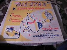 Vintage Gotham All Star Bowling Game #G-620 USA