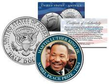 MARTIN LUTHER KING JR * NOBEL PEACE PRIZE * 1964 Winner JFK Half Dollar US Coin