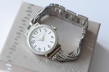 Silpada Stainless Steel Adjustable Superior Details Chain Bracelet Watch T3489