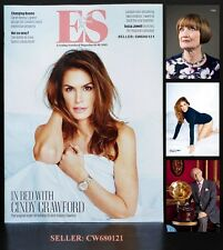 CINDY CRAWFORD TESSA JOWELL LEN GOODMAN ZAHA HADID ES MAGAZINE JANUARY 2015 NEW
