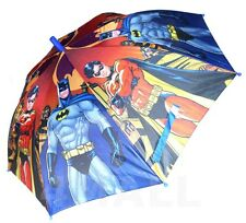 Kids Boys Rain Proof Umbrella Sun Shade Parasol Sunshade Batman & Robin Hero