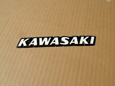 KAWASAKI KZ650 B, C, SERIES REPLICA METAL TANK BADGES,