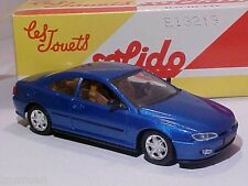 Peugeot 406 Coupé 1998 Solido 1/43 Diecast Mint in Numbered Box