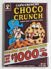 Choco Cap'n Crunch FRIDGE MAGNET (2 x 3 inches) cereal box captain chocolate