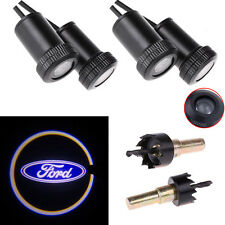 4X Car Door Step Led Laser Courtesy Projector Logo Ghost Shadow Light for Ford