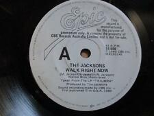 The Jacksons (Michael Jackson), Walk Right Now, rare Aust promo